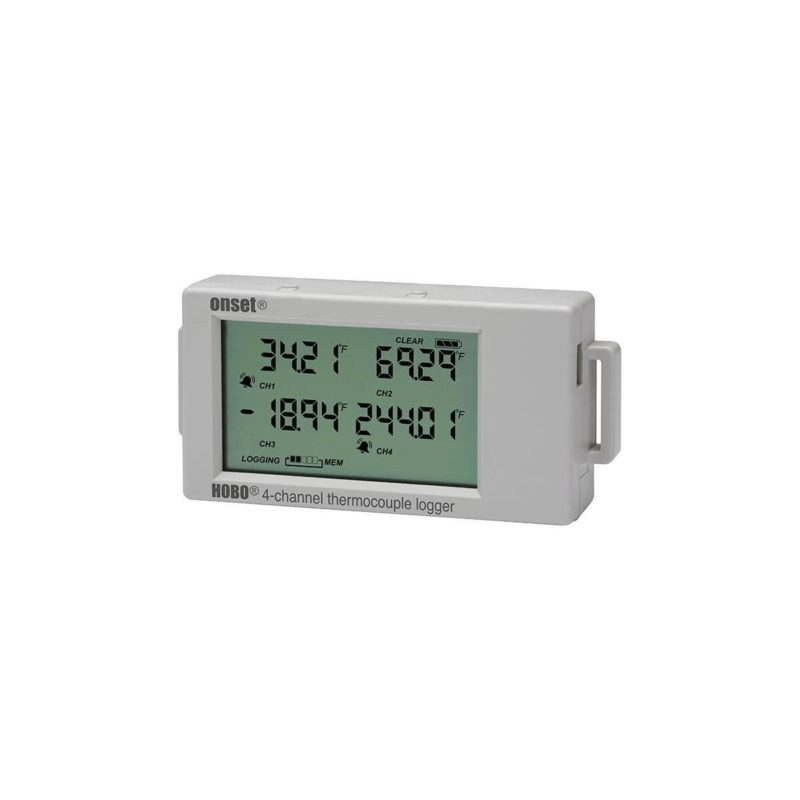 HOBO UX120 4-Channel Thermocouple Logger